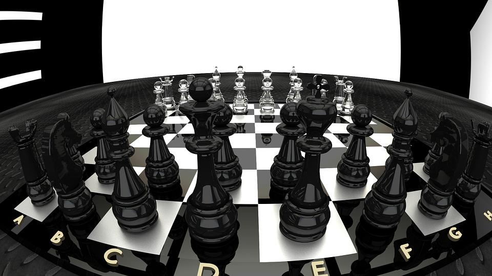 체스보드(흑백)