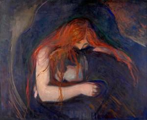 에드바르 뭉크, 뱀파이어 (1895)