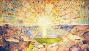 에드바르 뭉크, 태양 (1909)
