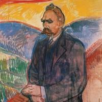에드바르 뭉크, 프리드리히 니체 (1905) 뭉크 미술관 소장