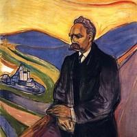 에드바르 뭉크, 프리드리히 니체 (1906) 티엘스카 미술관 소장