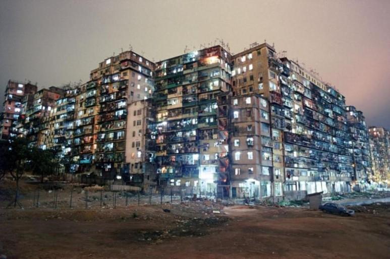 구룡성채의 밤